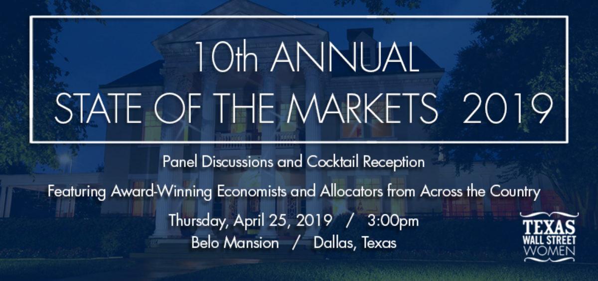TXWSW, 10th annual state of markets