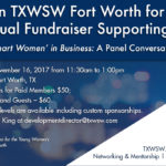 Join TXWSW Fort Worth for The Value of 'Smart Women' in Business: A Panel Conversation
