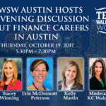 Please join TXWSW Austin for a Panel Discussion — Finance Careers in Austin