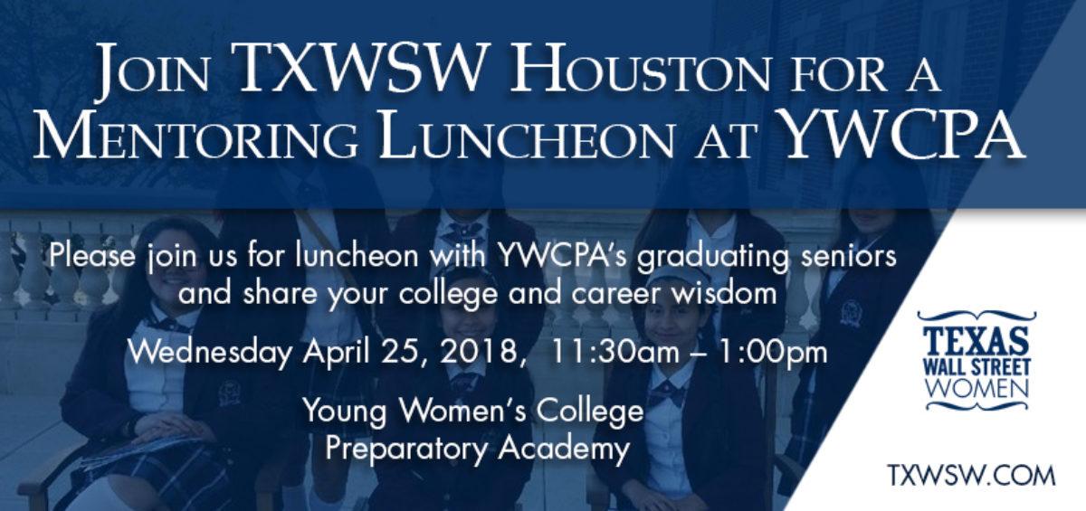 txwsw, Houston YWPA luncheon
