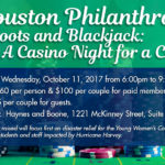 Houston Philanthropy Event: Boots and Blackjack: A Casino Night for a Cause!