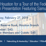 Join TXWSW Houston for a Tour of the Federal Reserve and Luncheon Presentation Featuring Perth Tolle & Samuel Rines