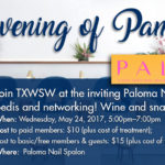 Join TXWSW Houston for an Evening of Pampering & Networking!