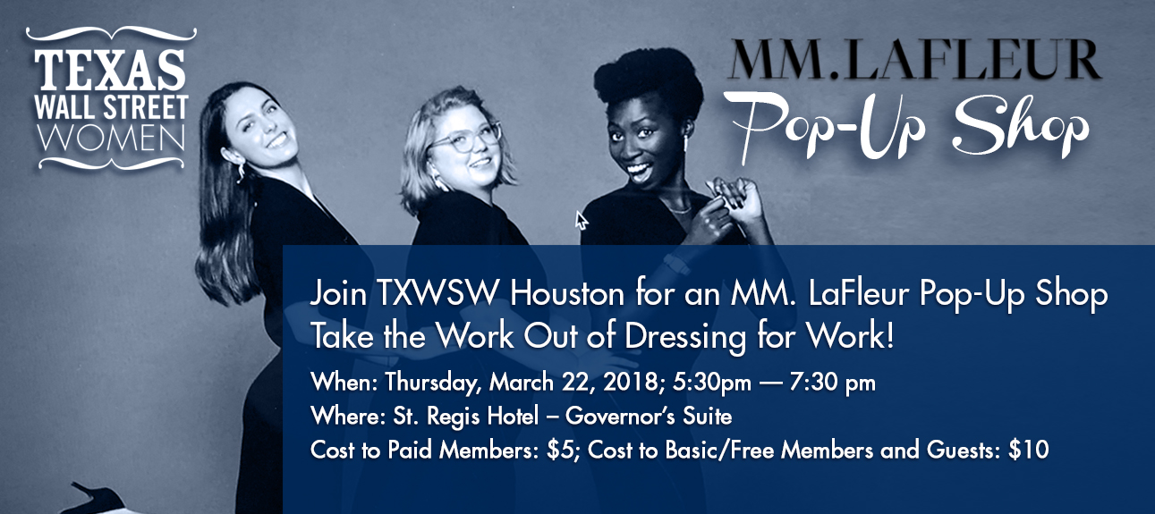 TXWSW, MMLFleur pop up houston