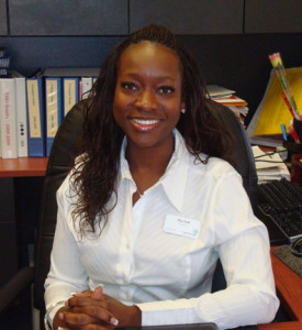 Mia Hall, Principal of the Young Women's Leadership Academy Fort Worth