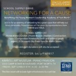Join Fort Worth in Networking for a Cause & School Supply Drive