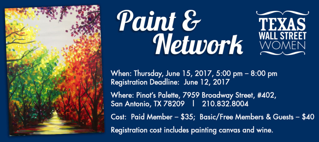 Please join txwsw san antonio for an evening of art and for Wine and paint san antonio