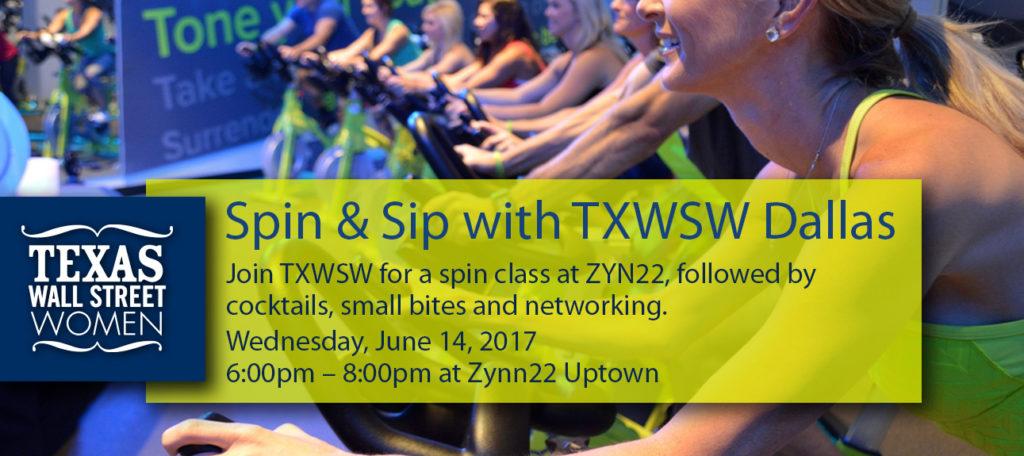 Sip & Spin, TXWSW, Dallas, Zyn22 Uptown