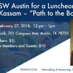 """Join TXWSW Austin for a Luncheon with Sharmila Kassam — """"Path to the Boardroom"""""""