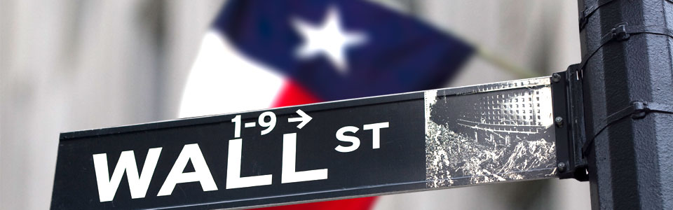 Texas Wall Street Image