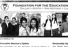 Foundation for the Education of Young Women 2010 Newsletter