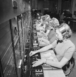 Women Telephone Operators