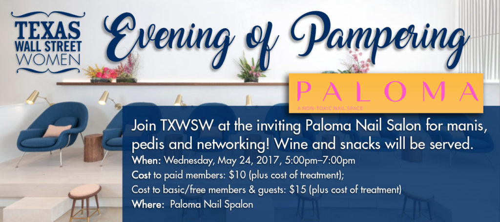 Join TXWSW at the inviting Paloma Nail Salon for manis, TXWSW