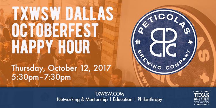 TXWSW Dallas Happy Hour at Peticolas