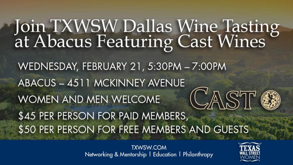 TXWSW, Dallas, Networking, Cast, Abacus