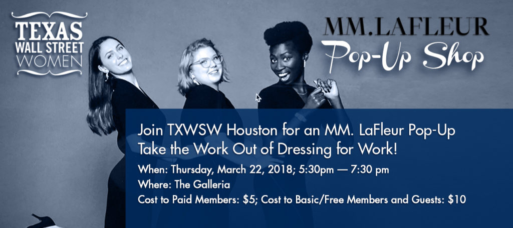 TXWSW, MM LFleur pop up houston