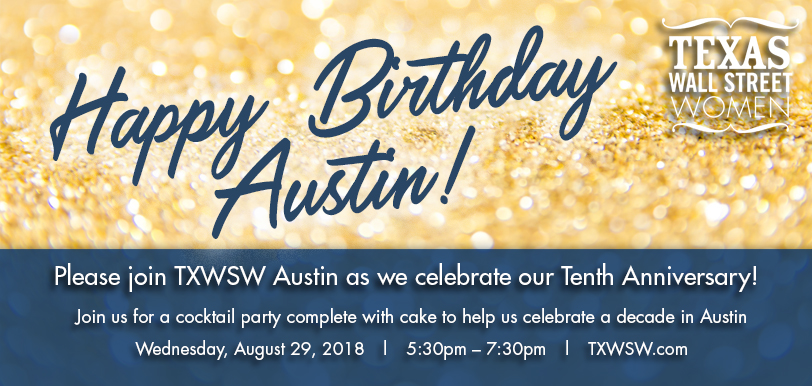 TXWSW Austin 10th anniv