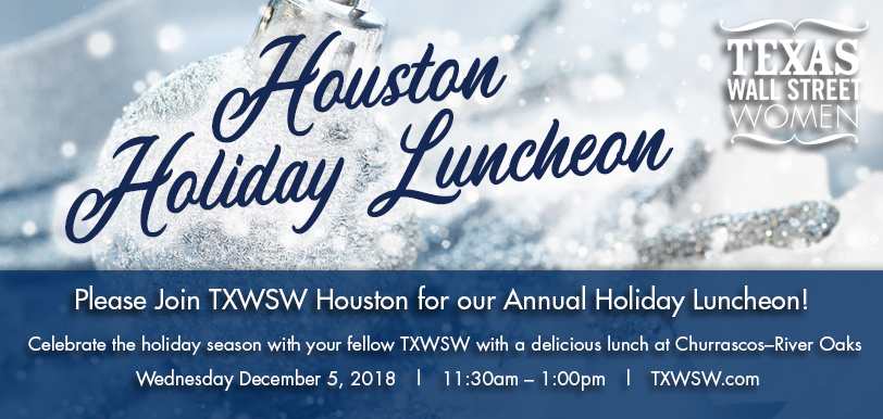 Houston Holiday lunch 2018