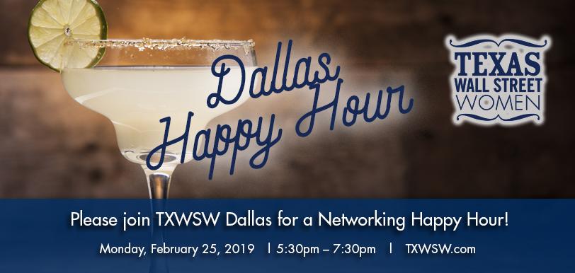 TXWSW, Dallas, Happy Hour, Networking