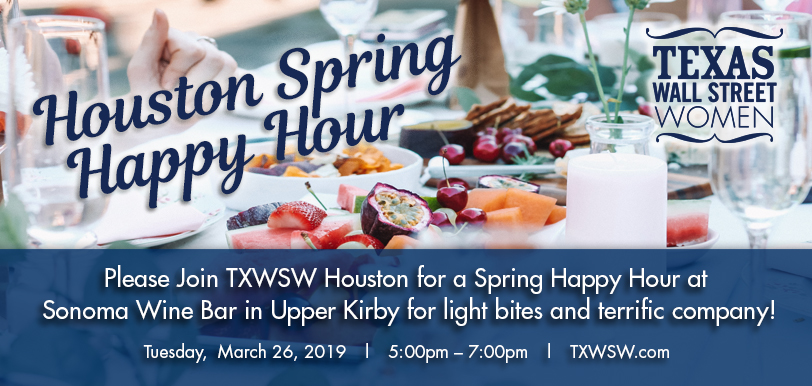 Houston Spring 2019 happy hour