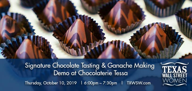 Austin signature chocolate tasting