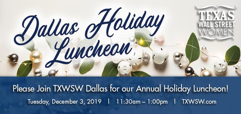 TXWSW Dallas Holiday Luncheon 2019
