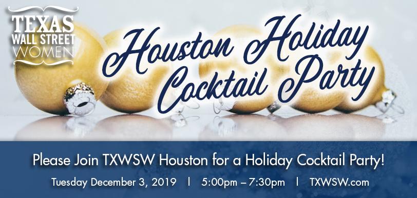 TXWSW, Houston, Cocktail Party, 2019