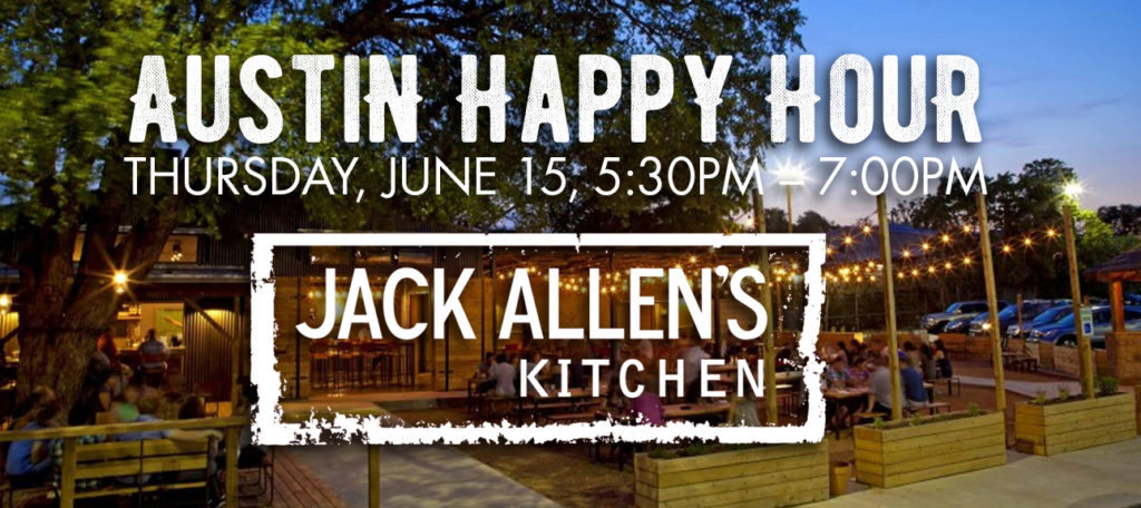 TXWSW, AUSTIN happy hour jack allens