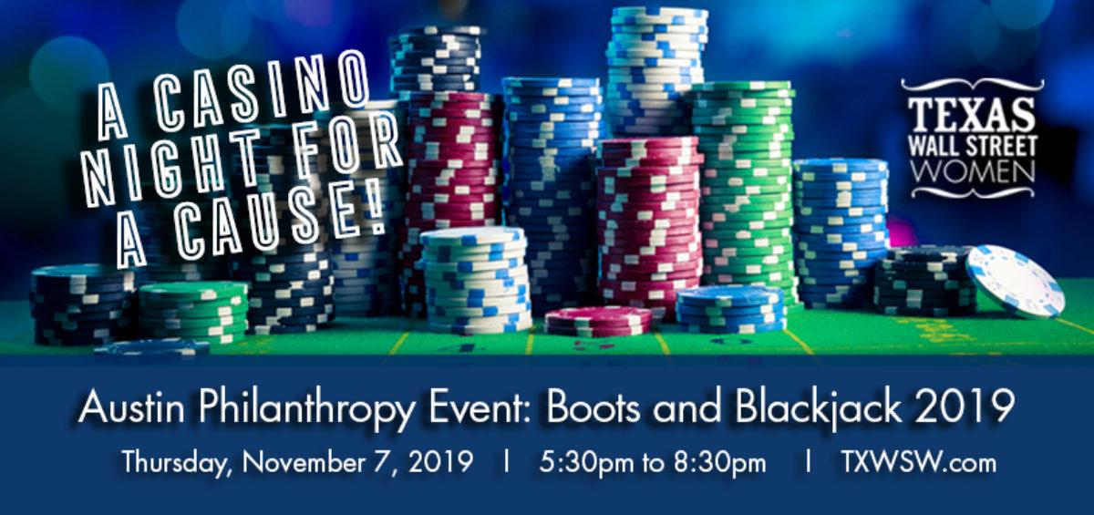 Austin Boots & Blackjack, TXWSW, 2019, Philanthropy