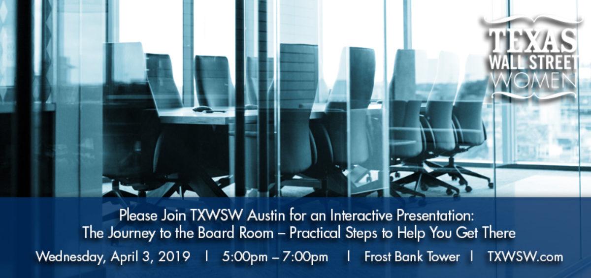 TXWSW, Austin Board room
