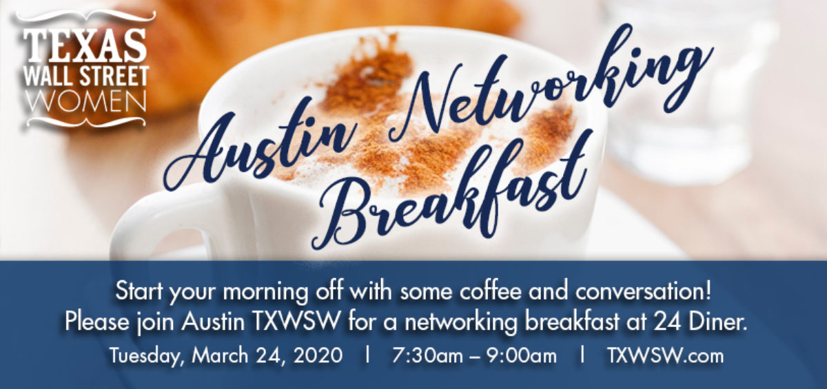 TXWSW Austin mar20 networking breakfast