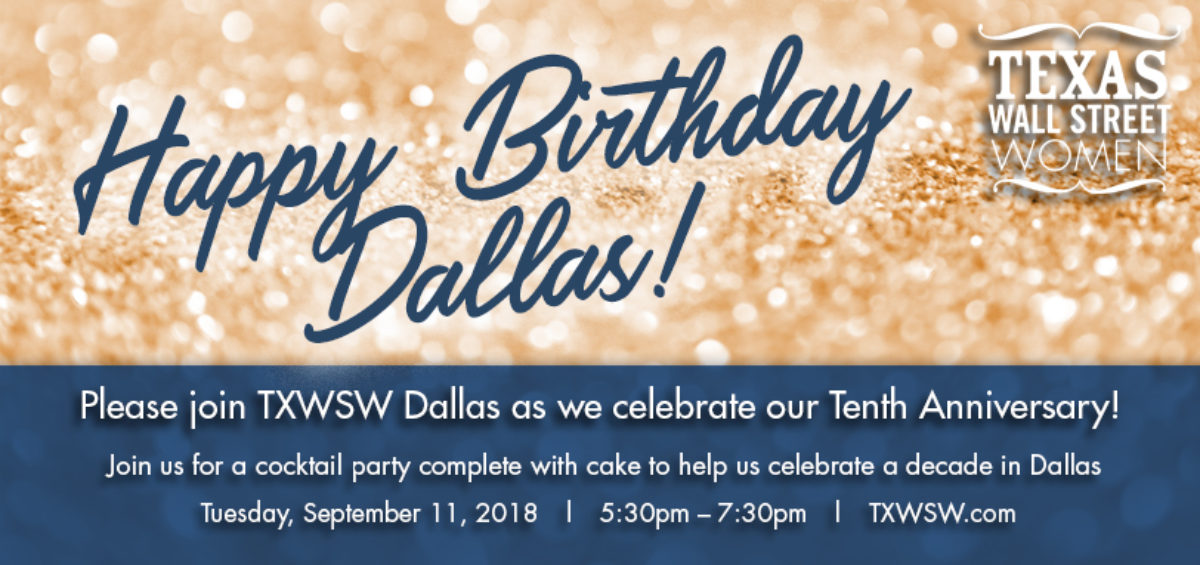 TXWSW, Dallas 10th anniv