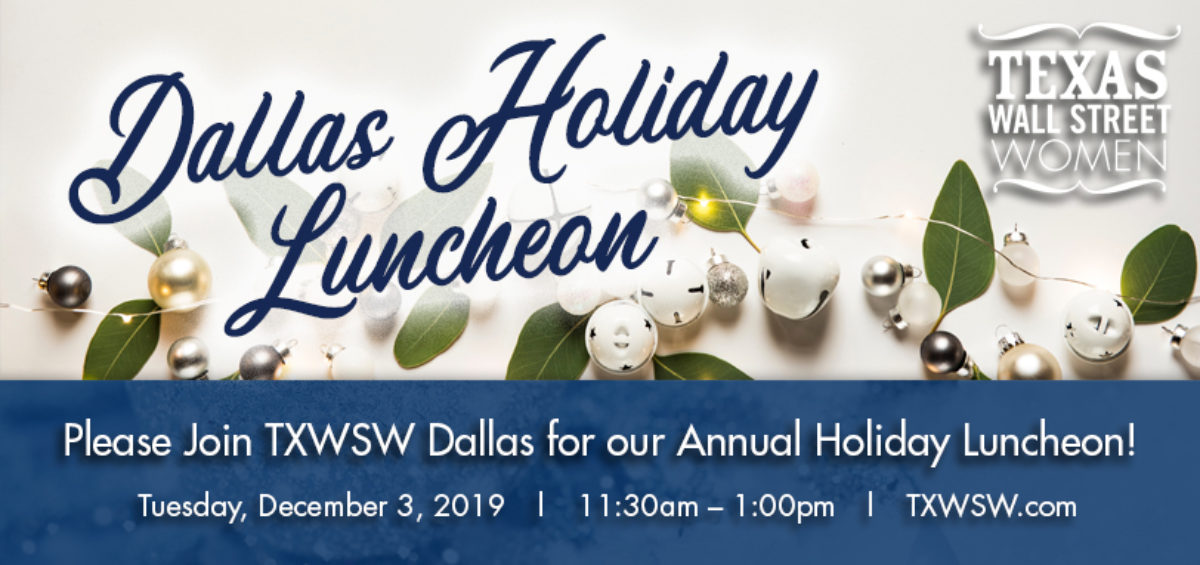 TXWSW Dallas Holiday Luncheon 2019