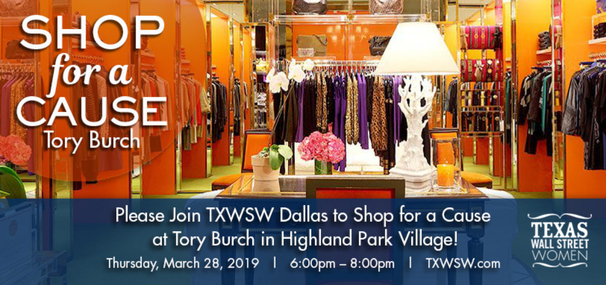 Dallas spring 2019 shop for a cause