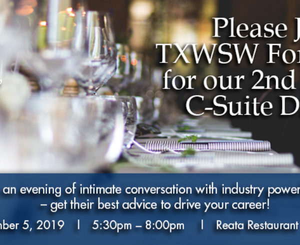 Fort Worth, C-Suite, TXWSW, Networking