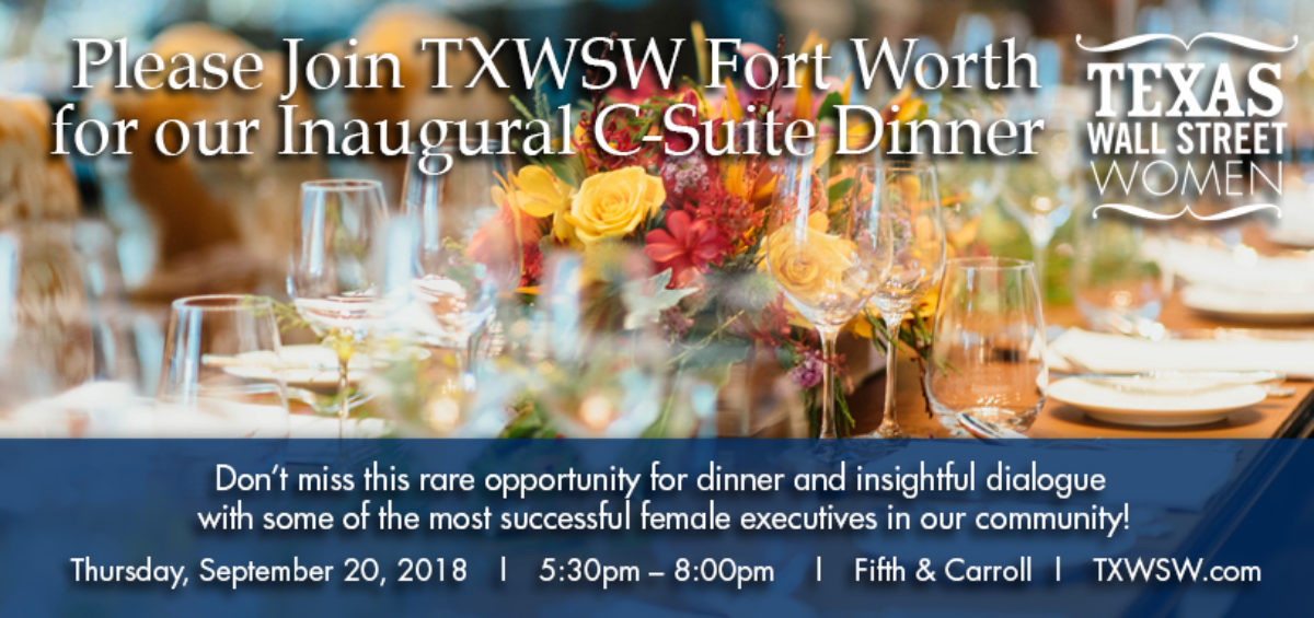 TXWSW, Forth Worth 1st C-Suite