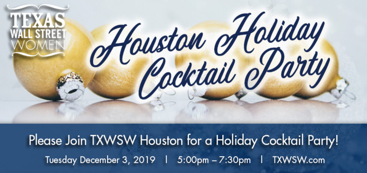 TXWSW, Houston, Cocktail Party, 2019