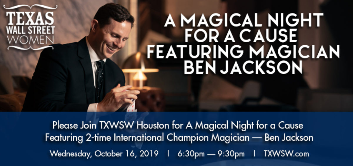 TXWSW, Houston, Philanthropy, Ben Jackson