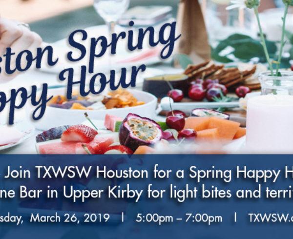 Houston Spring 2019 happy hour