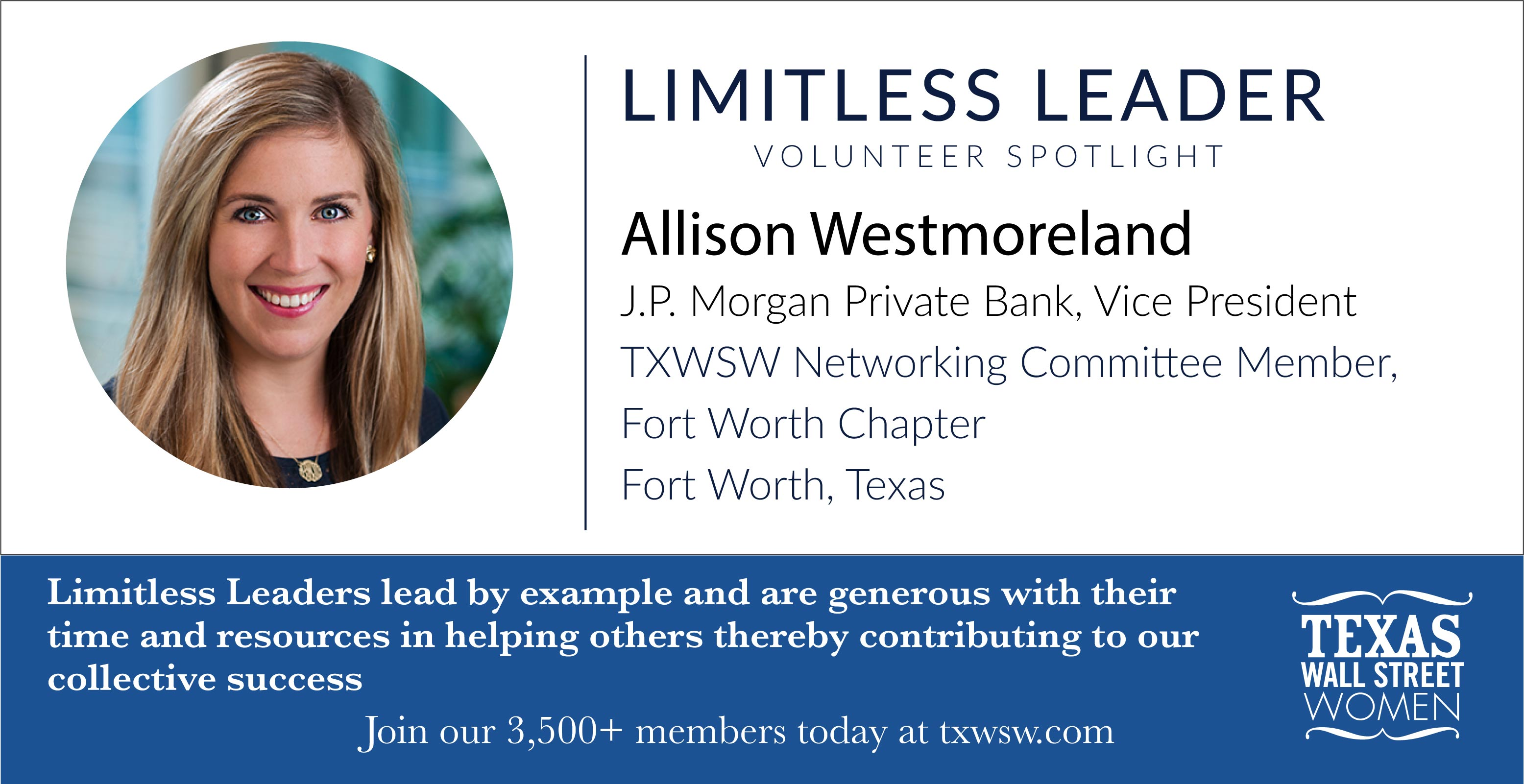 Allison Westmoreland Limitless Leader