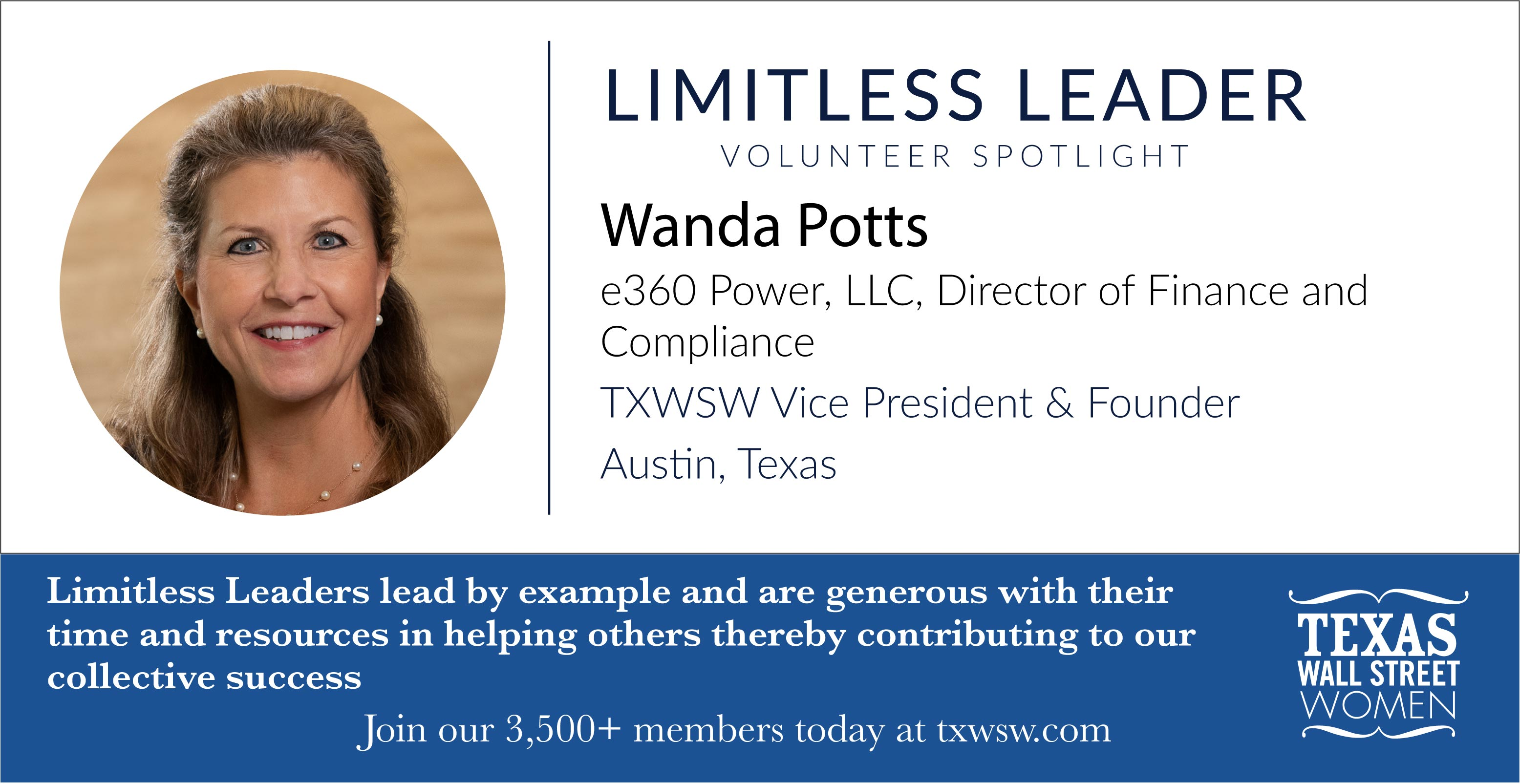 Wanda Potts Limitless Leader