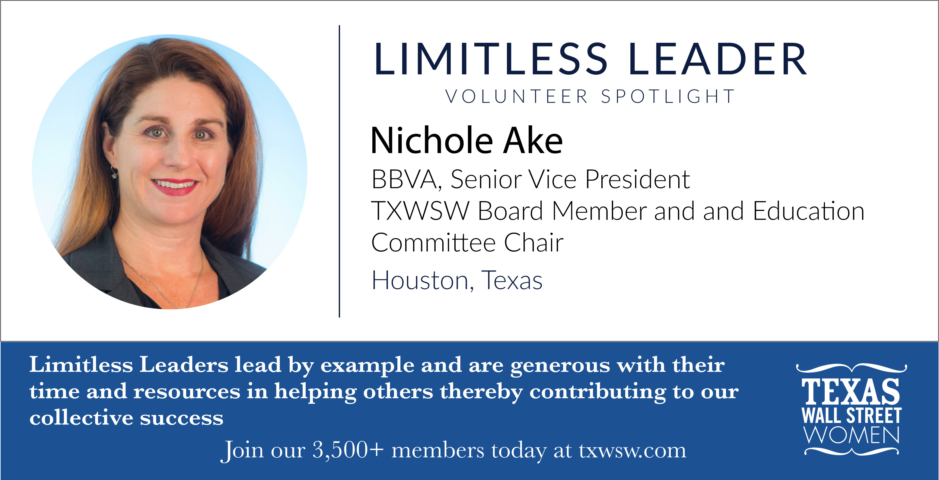 Nichole Ake TXWSW Limitless Leaders Campaign-16