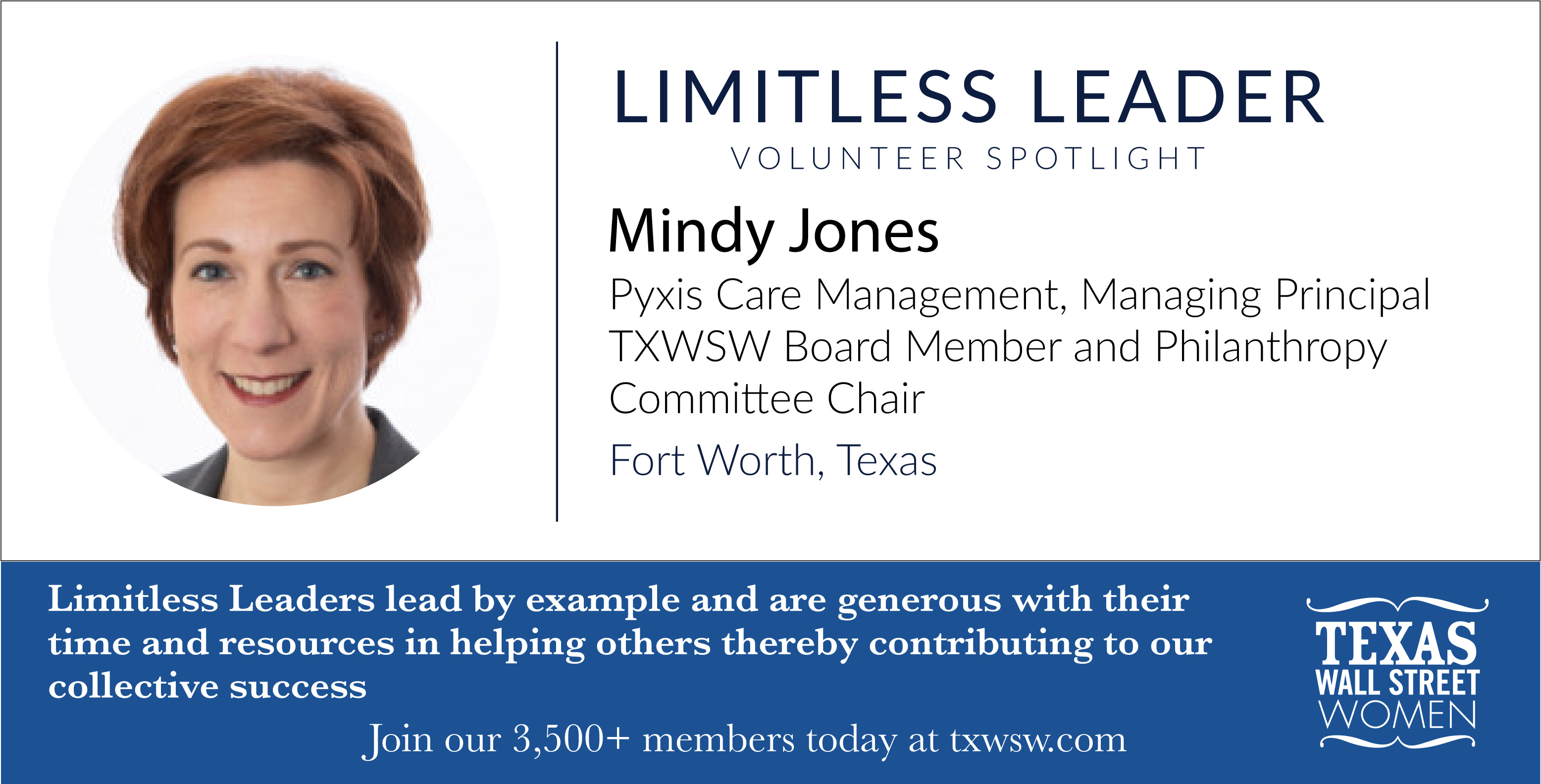 Mindy Jones TXWSW Limitless Leaders Campaign-17