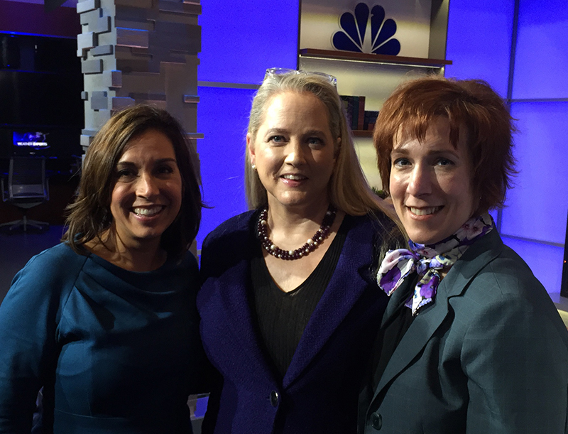 With grateful thanks to NBC5's Deborah Ferguson and Mindy Jones for making this possible