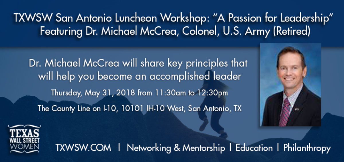 TXWSW, SanAntonio leadership lunch