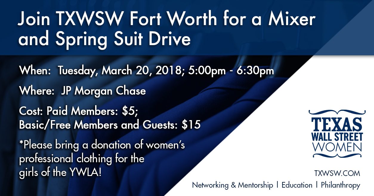 TXWSW Fort Worth Spring Mixer 18