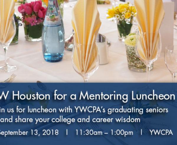 TXWSW, Houston, YWCPA Houston, mentorship