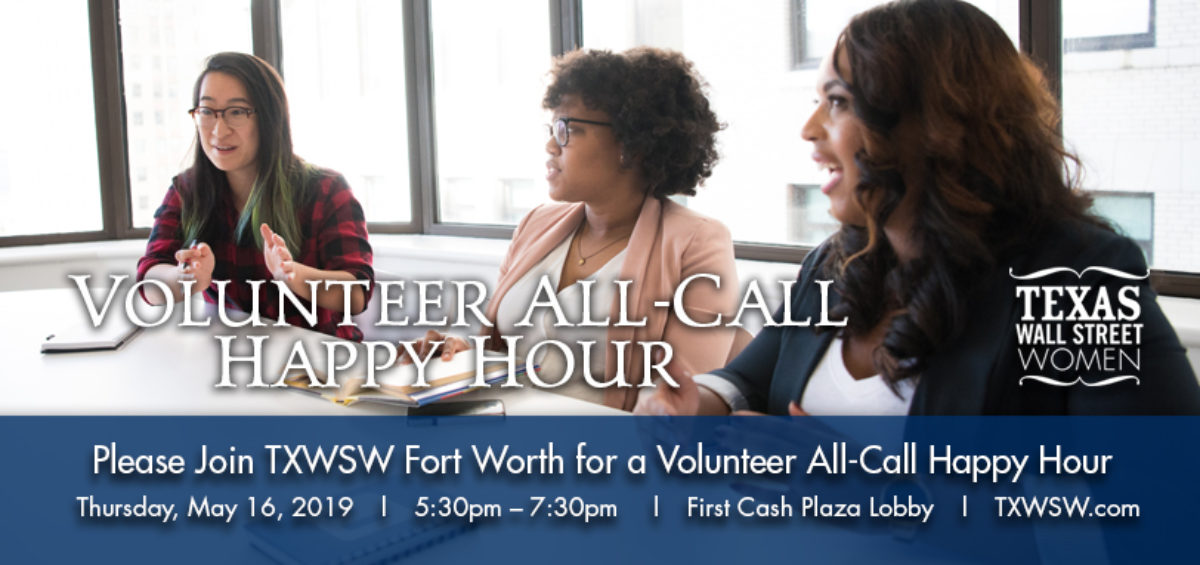 TXWSW Fort Worth VOLUNTEER ALL CALL